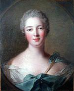 Madame de Pompadour ritratta nel 1748 da Jean-Marc Nattier.