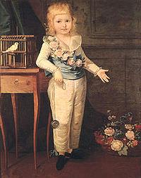 Il Delfino ritratto nel 1790 da Élisabeth Vigée-Le Brun.