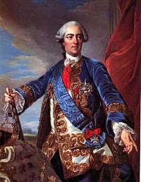 Ritratto di Luigi XV di Charles-André van Loo.