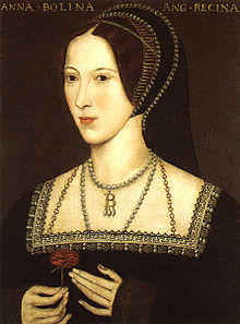 Anna Bolena, copia di dipinto c. 1534.