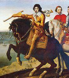 Re Luigi XIII e il cardinale Richelieu
