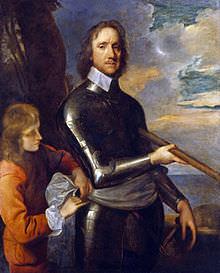 Ritratto di Oliver Cromwell eseguito da Robert Walker nel 1649.