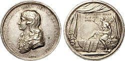 Medaglia commemorativa della morte di Luigi XVII