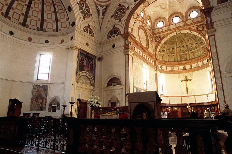 Il presbiterio di Santa Maria delle Grazie
