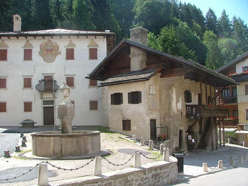 La casa di Tiziano a Pieve di Cadore