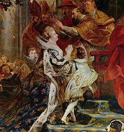 Il cardinale di Joyeuse incorona Maria de' Medici nel 1610, Peter Paul Rubens.