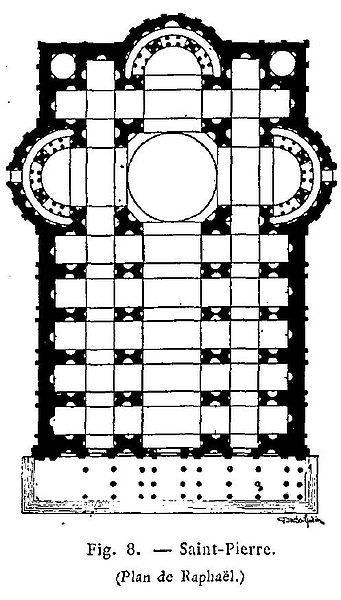 Progetto di Raffaello per San Pietro