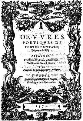 OEVVRES PONTUS DE TYARD