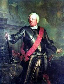 Federico Guglielmo I in un ritratto ufficiale.