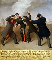 Il tentativo di assassinio di Francesco Giuseppe (1853).