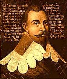 Un giovane Gustavo II Adolfo.